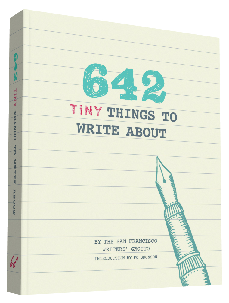 642 tiny things to write about 9781452142173